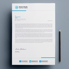 More than 3 millions free vectors, PSD, photos and free icons. Exclusive freebies and all graphic resources that you need for your projects Professional Letterhead Template, Company Letterhead Template, Free Letterhead Templates, Free Letterhead Design, Stationery Design, Brochure Design, Letterhead Design Inspiration, Bussiness Card, Business Card Design