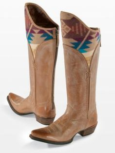 CALDERA BOOTS - Ariat and Pendleton collaboration...October can't come soon enough! Can't wait for these to be released!