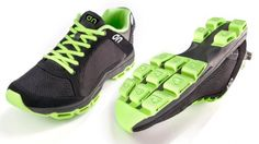 A recent prototype of the On Running Shoe - the final design will be unveiled in February,...