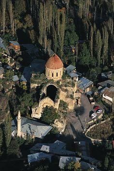 Church of Ösvank, Erzurum, Turkey Rest Of The World, Places Around The World, Around The Worlds, Beautiful Places To Travel, Wonderful Places, Ankara, Armenia Travel, Empire Ottoman, Turkey Photos