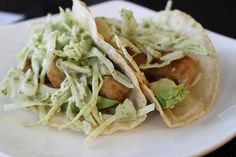 Fish Tacos recipe http://changingmydestiny.wordpress.com/2011/09/10/fish-tacos-5-ingredient-dinner/