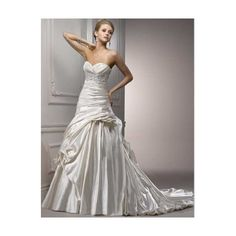 I want my wedding dress to look like this.(:
