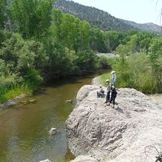 Forest Trail 746,  Middle Box of the Gila River in the Burro Mountains, New Mexico