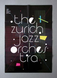 Zurich Jazz Orchestra Poster