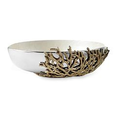 Julia Knight® By the Sea Coral 15-Inch Bowl in Snow