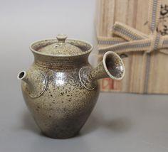 """小西洋平作 真焼急須 / """"Japanese teapot for greentea""""""""Japanese pottery"""" Mayake teapot by Konishi Yohei"""