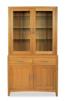 This Solid Hereford Oak 2 Door Sideboard Top - 3 adjustable glass shelves's EAN code is 5053730004676 and the weight of this product is 48.00kg. The height is 89cm and the width is 31.5cm. It is the part of Hereford Oak Oak range from Ametis.  It is 2 glass doors. When we asked the manufacturer if this Solid Hereford Oak 2 Door Sideboard Top - 3 adjustable glass shelves requires assembly, the answer was No. It was manufactured in China and it comes in 1 box.  This Solid Hereford Oak 2 Door…