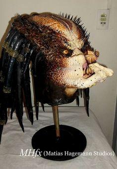 Depredador clásico de jungla (busto finalizado)!!!! Classic jungle Predator (finished bust)!!!!  realizado por Matias Hagemann