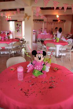 Minnie's bday party decor