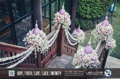Thai Wedding Ceremony Design By Wind Clover https://www.facebook.com/fanfanwindclover