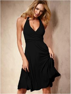 fba4ce60375 The LBD  A Staple for all Shapes and Occasions. Victoria DressHalter DressesCute  ...