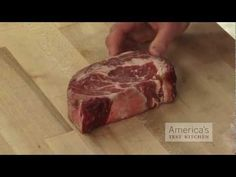 Dry-aged steak is fantastically tender and flavorful, but it's rare to find it outside of steakhouses or quality butcher shops, and it's pretty expensive. America's Test Kitchen shows you can dry age a supermarket steak yourself in your fridge. Dry Aged Steak, Cooking Photos, Cooking Tips, How To Make Sausage, Americas Test Kitchen, Cheese Cloth, Smoking Meat, Beef Dishes, Charcuterie