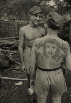 French prisoners released from Devil's Island c. 1953
