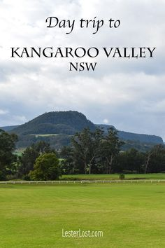 Kangaroo Valley is a hidden gem in New South Wales, Australia. Take a day trip 2 hours from Sydney and discover a lush and green valley.