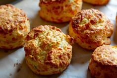 4 Ingredient Cheesy Herbed Biscuits with King Arthur Flour   Giveaway!