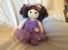 Crochet Ballerina Doll PATTERN amigurumi doll von Teddywings