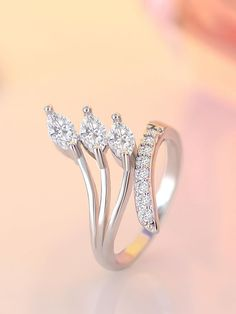 Gold Jewelry Carat Marquise Shape Diamond Engagement Wedding Ring in Gold Unique Diamond Rings, Diamond Wedding Rings, Diamond Engagement Rings, Diamond Bands, Wedding Engagement, Gold Chains For Men, Bridal Ring Sets, Small Rings, Finger