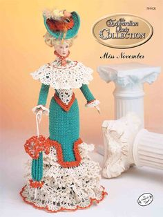 Barbie Crochet: The Edwardian Lady Promenade Costume Miss November 1996 $3.95 on e- patternsCentral