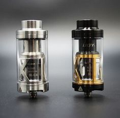 Limitless XL ijoy.  Black and gold or silver RBA.