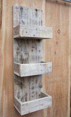 Tall Rustic Kitchen / Bathroom Storage Shelves Made From Reclaimed Wood, . Tall Rustic Kitchen / Bathroom Storage Shelves Made From Reclaimed Wood, Wooden Pallet Projects, Pallet Crafts, Diy Pallet Furniture, Woodworking Projects Diy, Rustic Furniture, Wood Crafts, Woodworking Plans, Woodworking Furniture, Luxury Furniture