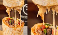 Freebirds Quesarito -- Burrito and Quesadilla Hybrid