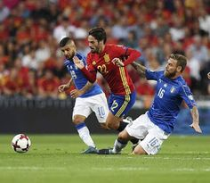 Blog Esportivo do Suíço: Espanha domina a Itália e fica perto de vaga na Copa do Mundo