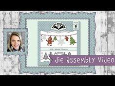(116) Karen Burniston Die Set #1018 Winter Charms Assembly - YouTube