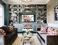 crazy obsessed with this living room. lonny via la dolce vita.
