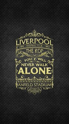 Liverpool Tattoo, Fc Liverpool, Liverpool Football Club, Soccer Logo, Football Soccer, Lfc Wallpaper, Super Club, Liverpool Wallpapers, You'll Never Walk Alone
