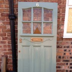 1930 Furniture Styles 1930s Stained Glass Front Door with