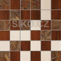 Mozaika Madera hnědá 30x30 cm, mat Samba, Kitchen, Design, Wood, Cuisine, Kitchens, Design Comics, Stove, Cucina