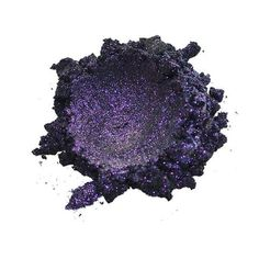 "Nebula, there couldn't be a more fitting name for this mica. The splashes of purple glitter on black, gives it a psychedelic look with a ""don't give a hoot"", demeanor. Checkout all of our new Galaxy Collection colors! Orion Nebula, Purple Glitter, Psychedelic, The Darkest, Amethyst, Crystals, Galaxies, Nebulas, Beauty"