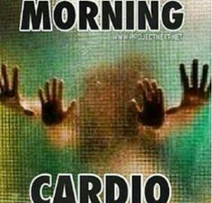 No excuses for you to skip your morning cardio. Flirty Good Morning Quotes, Happy Morning Quotes, Good Morning Funny, Morning Humor, Saturday Morning, Kinky Quotes, Sex Quotes, Naughty Quotes, Its Friday Quotes