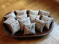 """My """"Little Sheep Virtues"""" by Little House Needleworks"""