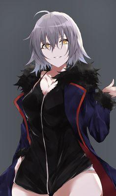 Cool Anime Girl, Beautiful Anime Girl, Kawaii Anime Girl, Anime Art Girl, Manga Girl, Chica Anime Manga, Fantasy Character Design, Character Art, Jeane D Arc