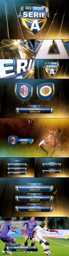 SkySport promo toolkit on Behance