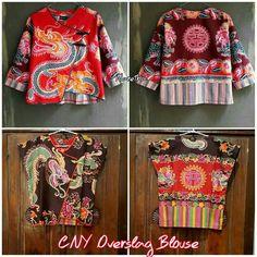 Batik Fashion, Ethnic Fashion, Boho Fashion, Womens Fashion, Fashion Design, Dress Sewing Patterns, Blouse Patterns, Blouse Designs, Blouse Batik