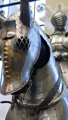 Horse armor (bard), by Wilhelm von Worms the Elder, 1507, and knight's armor by Matthes Deutsch 1505, of Duke Ulrich of Wurttemberg. Philadelphia Museum of Art.