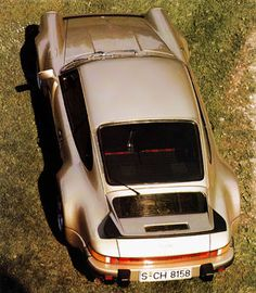 1975 Porsche 911 turbo. It is said that Ferdinand Porsche took inspiration from a woman's body when designing the wheel arches for the iconic turbo. I can see that ;)