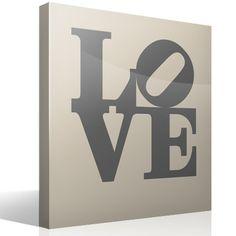 Vinilo decorativo love design 2