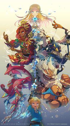 The Legend Of Zelda, Legend Of Zelda Memes, Legend Of Zelda Breath, Game Character, Character Design, Zelda Hyrule Warriors, Princesa Zelda, Botw Zelda, Link Zelda
