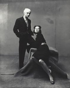 Irving Penn, Max Ernst & Dorothea Tanning, New York, March 20, 1947, printed 1983