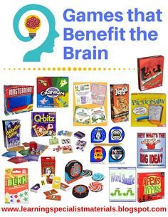 Learning Specialist and Teacher Materials - Good Sensory Learning: Games that Benefit the Brain