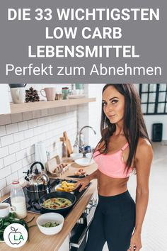 Unsere Low Carb Lebensmittel Liste enthält gesunde Nahrungsmittel ohne Kohlenhy… Our low carb food list contains healthy foods without carbohydrates that are perfect for losing weight. Check out the German table here and use it for your diet. Low Carb Food List, Low Carb Recipes, Diet Recipes, Healthy Recipes, Healthy Foods, Fat Foods, Diet And Nutrition, Dieta Atkins, Menu Dieta