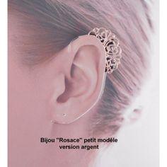 Bijoux Rosace pour coques d'appareil auditif, pour contour d'oreilles et implant cochléaire. En exclusivité sur audilo.com