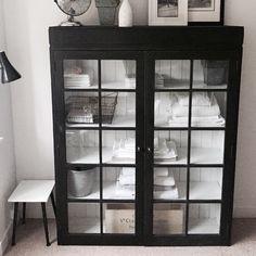 Antique Black Linen Cupboard £565. Www.livedandloved.co.uk