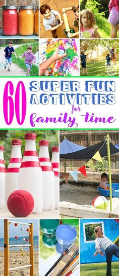 60 Super Fun Family Time Activities. #familytime /juicyjuiceusa/ #sponsor