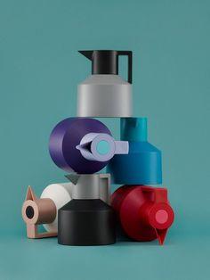 Vacuum Flask GEO by @Nereyda Norman Copenhagen | Design Nicholai Wiig Hansen (2012)