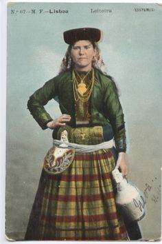 Milkmaid, 1914 Folk Costume, Costumes, Cliff Diving, Folk Clothing, Victorinox Swiss Army, Old Maps, Azores, Parkour, People Of The World