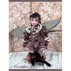 Uva spina - Laboratorio Monte Dragone di Stefania Rossetti Dragon, Victorian, Dolls, Pixies, Dresses, Fashion, Lab, Baby Dolls, Vestidos